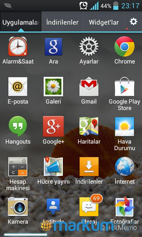 Android işletim sisteminde mail kurulumu
